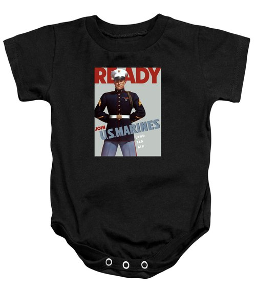 Us Marines - Ready Baby Onesie