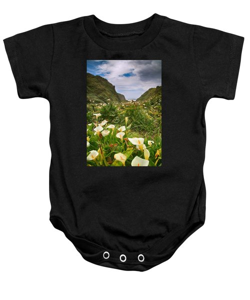 Valley Of The Lilies Baby Onesie