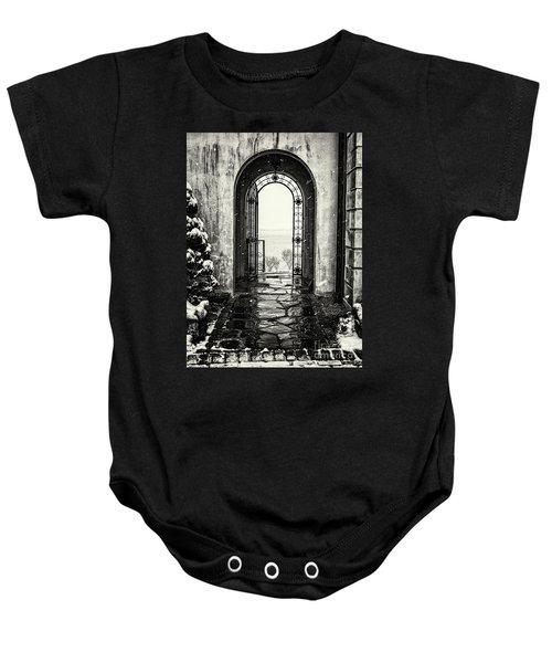 Vanderbilt Doorway In Centerport Baby Onesie