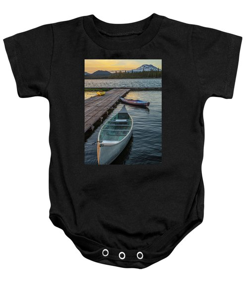Variation On A Theme At Lava Lake Baby Onesie