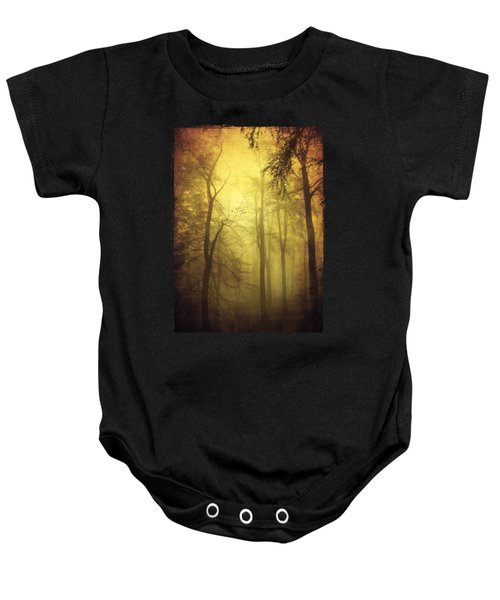 Veiled Trees Baby Onesie