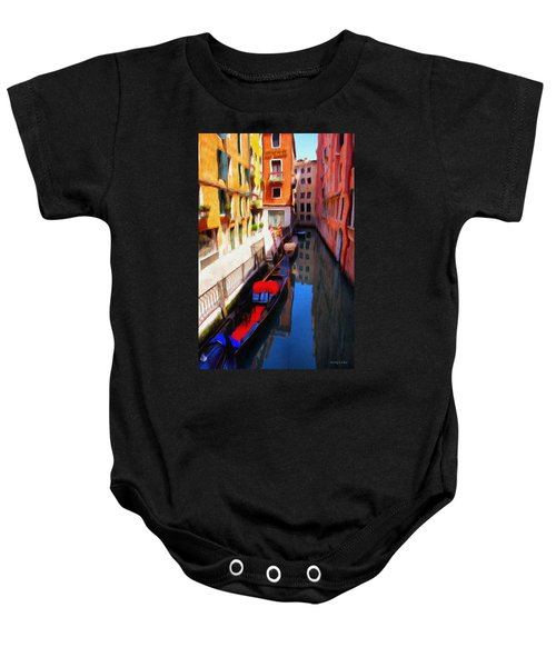 Venetian Canal Baby Onesie