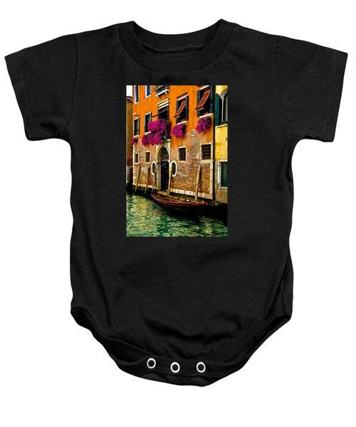 Venice Facade Baby Onesie