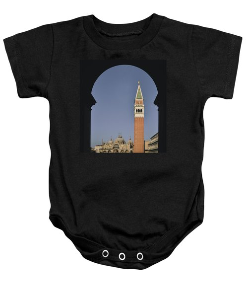 Venice In A Frame Baby Onesie
