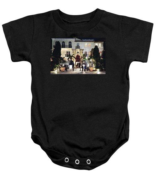 Versace Mansion South Beach Baby Onesie