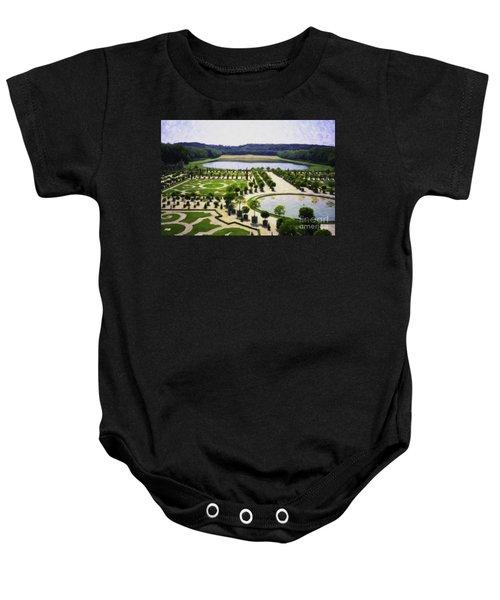 Versailles Digital Paint Baby Onesie