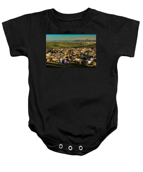 View Ancient Fes Morroco Baby Onesie