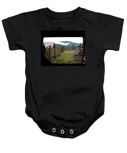 View From A Barn Baby Onesie