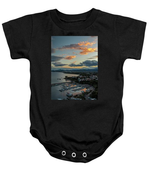 View From The Port Baby Onesie