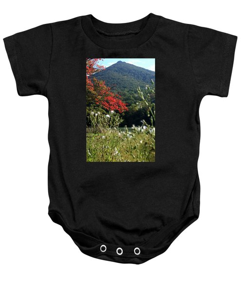 View Of Sharp Top In Autumn Baby Onesie