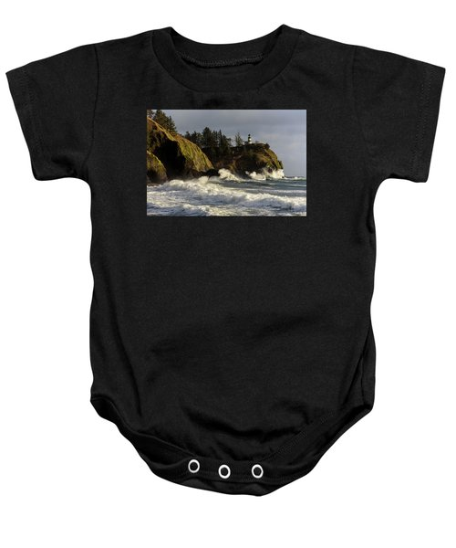 Vigorous Surf Baby Onesie
