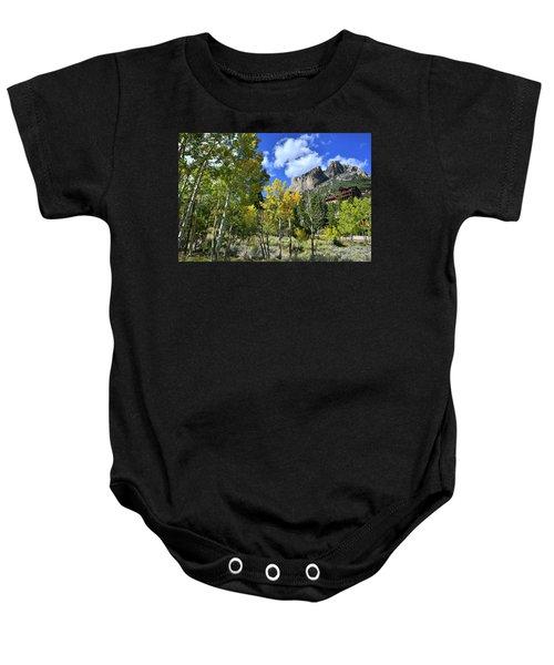 Village Beneath Mt. Charleston Baby Onesie