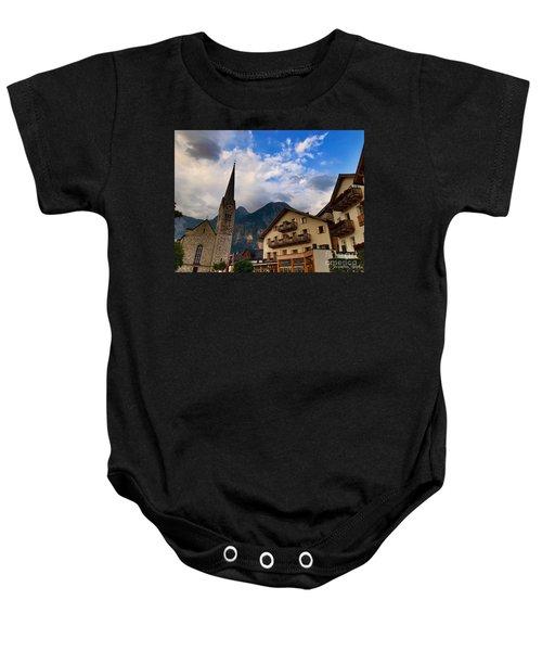 Village Hallstatt Baby Onesie