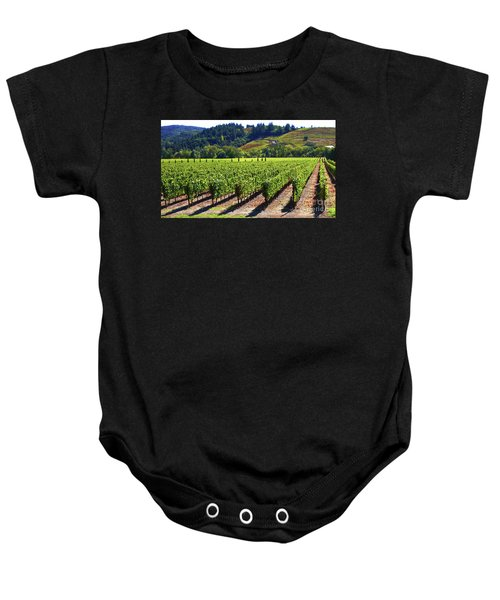 Vineyards In Sonoma County Baby Onesie