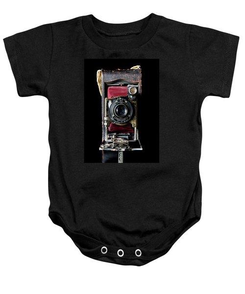 Vintage Bellows Camera Baby Onesie