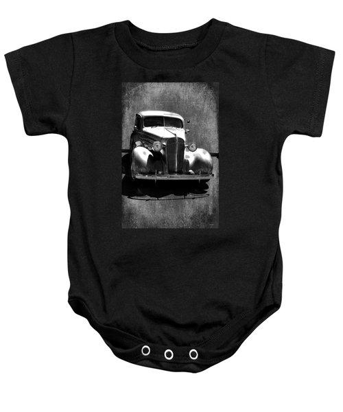 Vintage Car Art 0443 Bw Baby Onesie