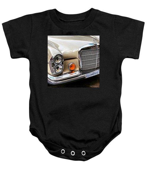 #vintage #car Corner Peek-a-boo Baby Onesie