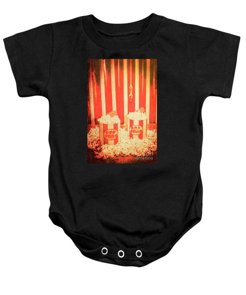 Vintage Classical Cinema Interval Concept Baby Onesie