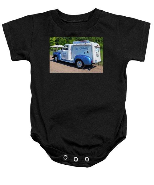 ec219eeeb Ice Cream Truck Baby Onesies | Fine Art America