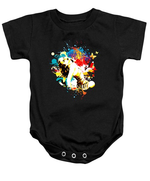 Vixen Subdued Baby Onesie by Chris Andruskiewicz