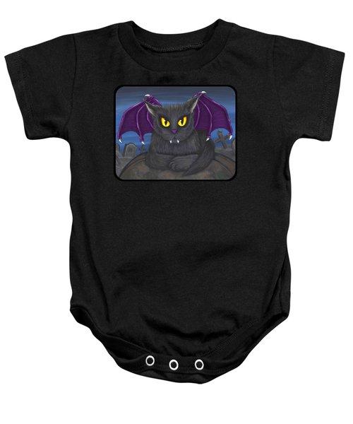 Vlad Vampire Cat Baby Onesie
