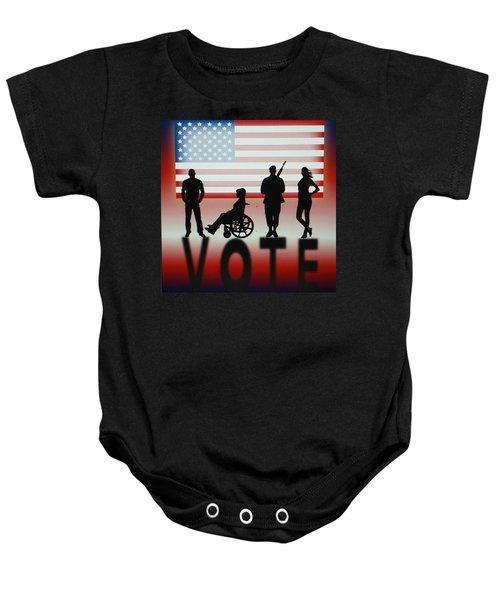 Vote Baby Onesie
