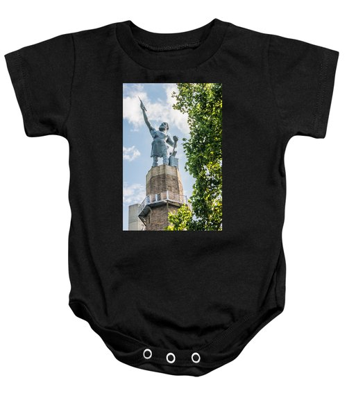 Vulcan On A Sunny Day Baby Onesie