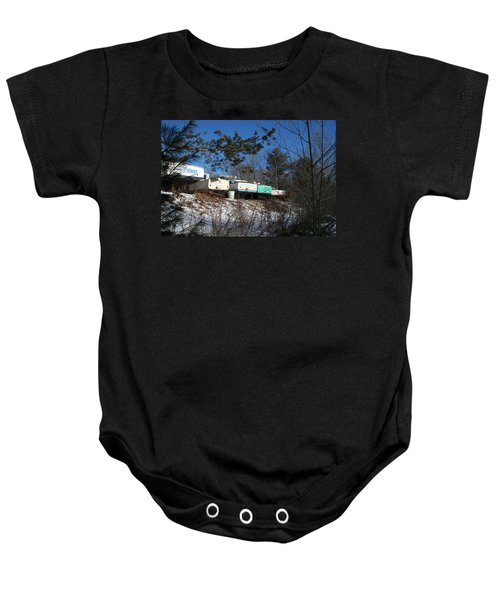 Waiting For Spring Baby Onesie