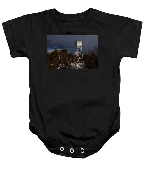 Waiting Tower Baby Onesie