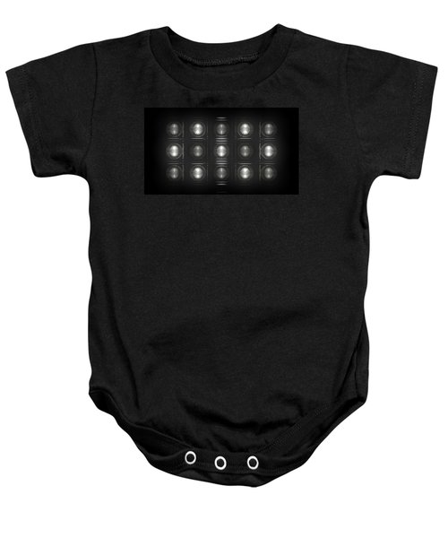 Wall Of Roundels - 5x3 Baby Onesie