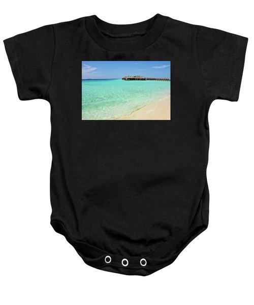 Warm Welcoming. Maldives Baby Onesie