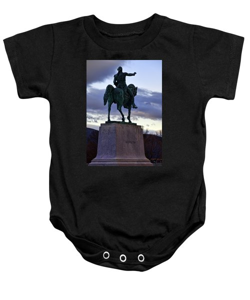 Washington Monument At West Point Baby Onesie