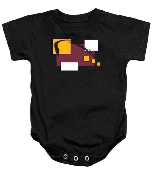 Washington Redskins Abstract Shirt Baby Onesie