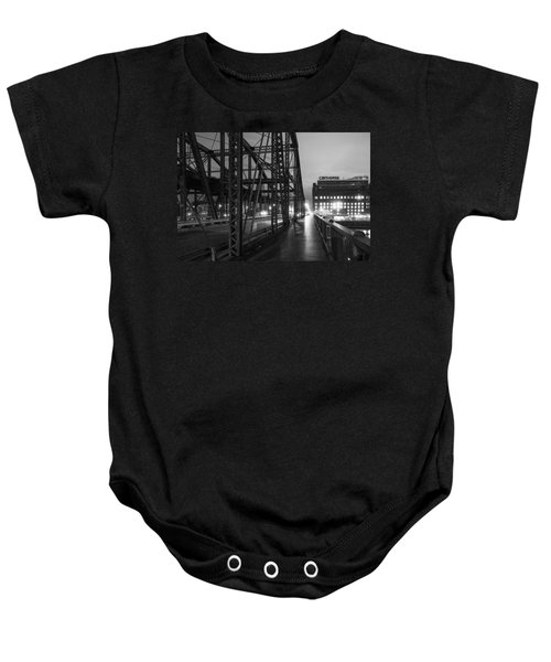 Washington Street Bridge Baby Onesie