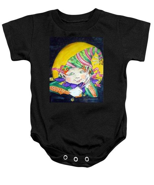 Elfin Artist Baby Onesie