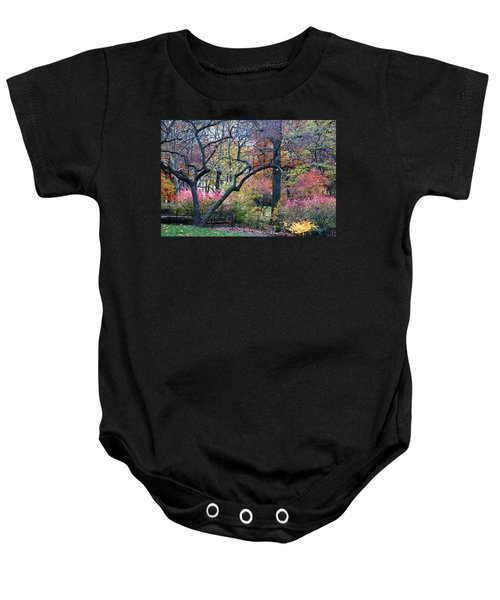 Watercolor Forest Baby Onesie
