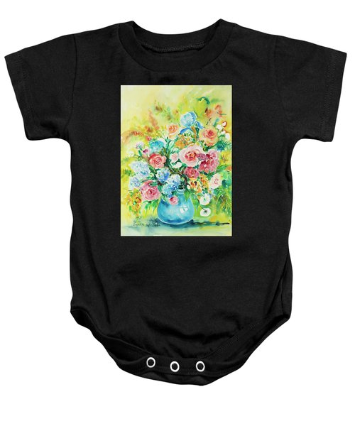 Watercolor Series 120 Baby Onesie