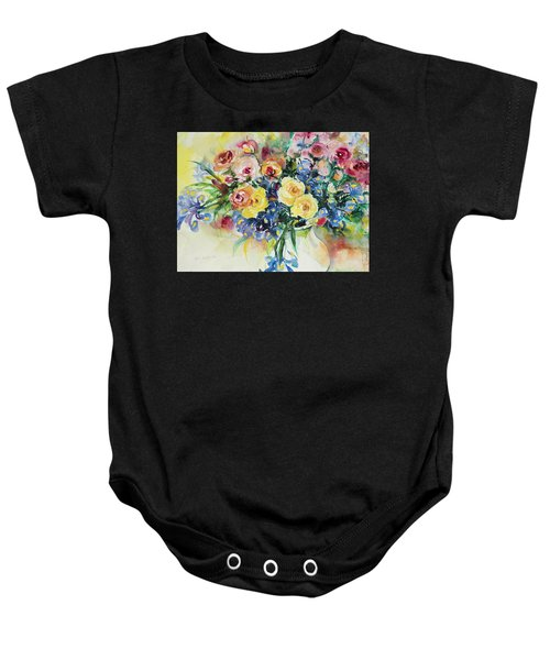 Watercolor Series 62 Baby Onesie