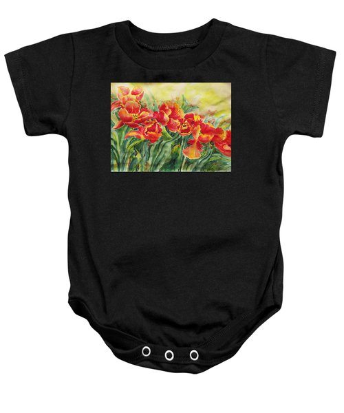 Watercolor Series No. 241 Baby Onesie