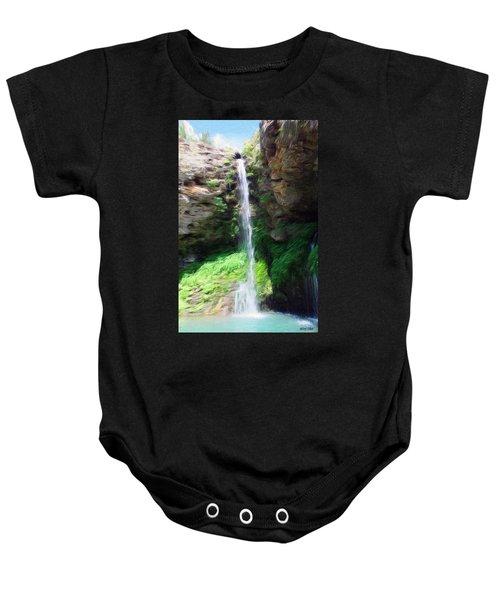 Waterfall 2 Baby Onesie