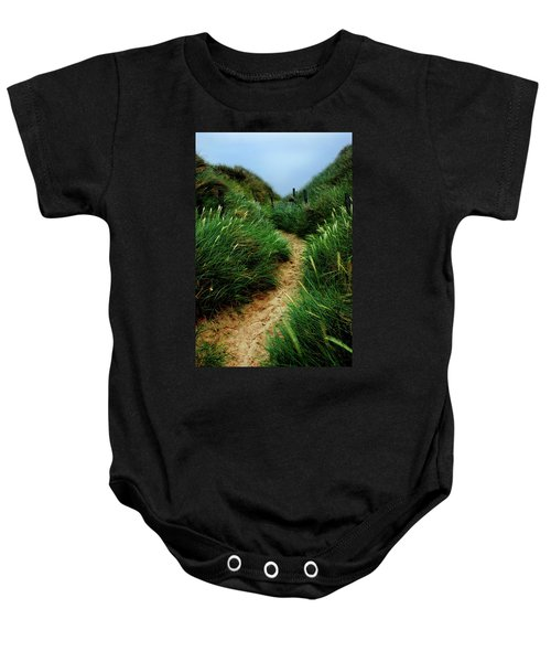 Way Through The Dunes Baby Onesie