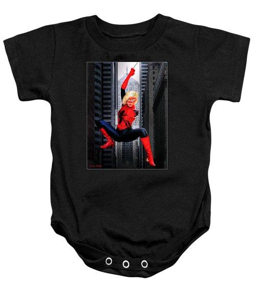 Web Swinger Baby Onesie
