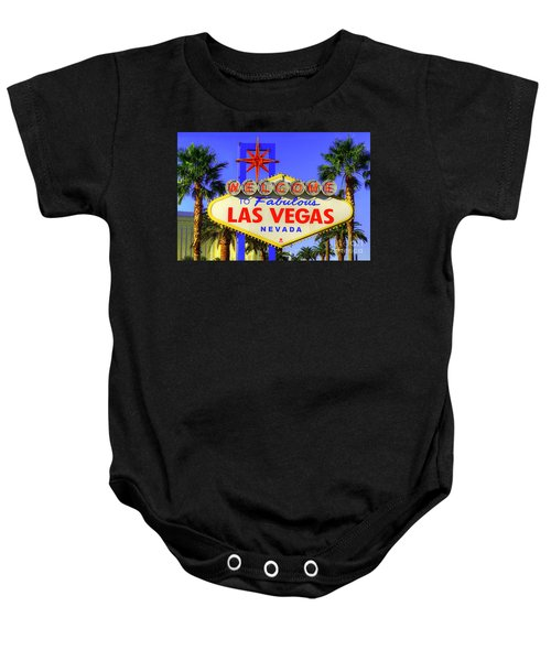 Welcome To Las Vegas Baby Onesie