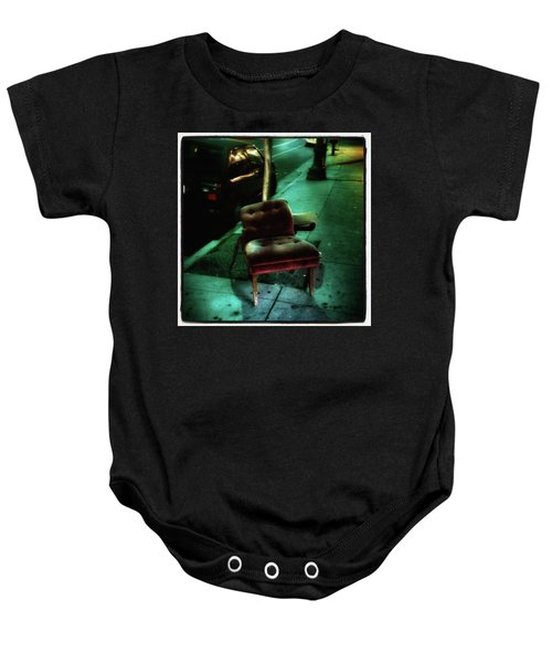 Baby Onesie featuring the photograph Welcome To My Living Room, Pull Up A by Mr Photojimsf