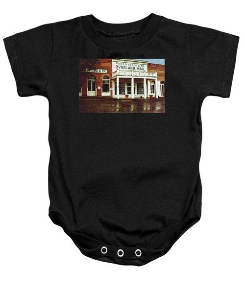 Wells Fargo Ghost Station Baby Onesie