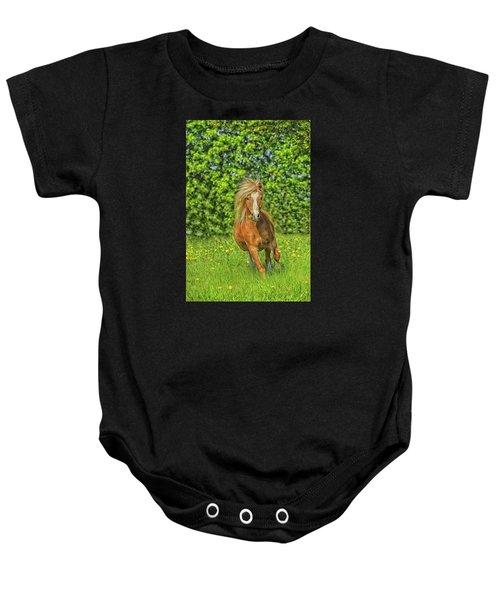 Welsh Pony Baby Onesie