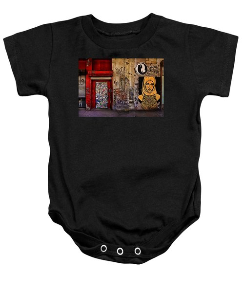 West Village Wall Nyc Baby Onesie