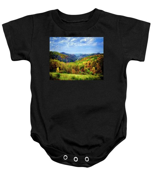 West Virginia Baby Onesie