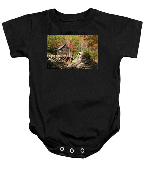 West Virginia Mill Baby Onesie