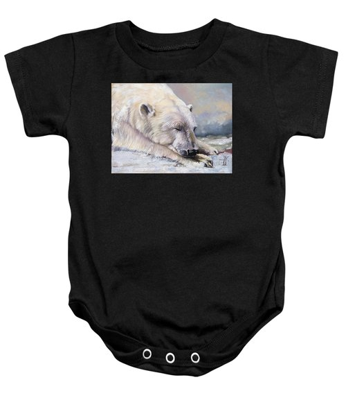What Do Polar Bears Dream Of Baby Onesie